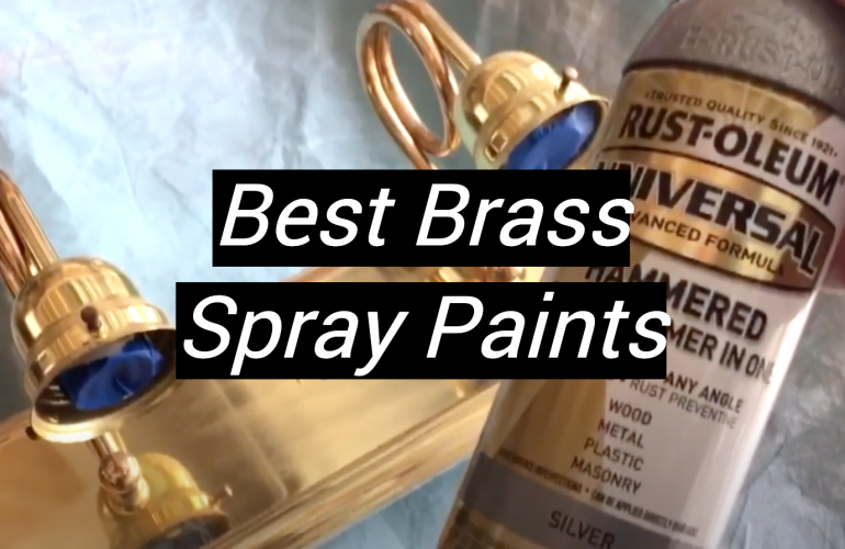 5 Best Brass Spray Paints