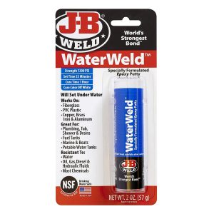 J-B Weld 8277 WaterWeld Epoxy – the Best Product for Use Underwater