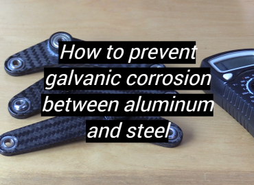How to prevent galvanic corrosion between aluminum and steel